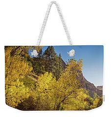 Autumn Along Kolob Creek Weekender Tote Bag