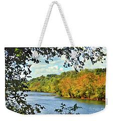 Autumn Along The New River - Bisset Park - Radford Virginia Weekender Tote Bag