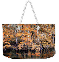 Autumn Along The Waccamaw Weekender Tote Bag