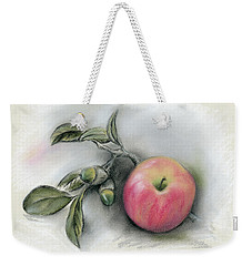 Autumn Apple And Acorns Weekender Tote Bag