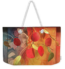 Autumn Apples 3d Weekender Tote Bag
