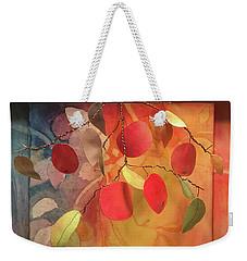 Autumn Apples 3d Weekender Tote Bag