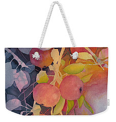 Autumn Apples Weekender Tote Bag