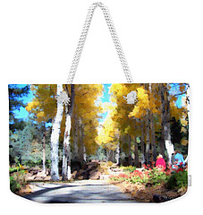 Autumn Aspens Weekender Tote Bag