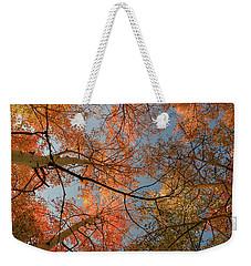 Autumn Aspens In The Sky Weekender Tote Bag