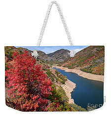 Autumn At Causey Reservoir - Utah Weekender Tote Bag