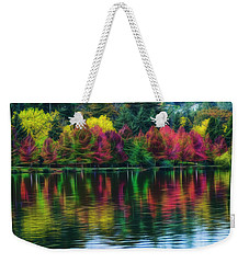 Autumn At Green Lake Seattle Weekender Tote Bag