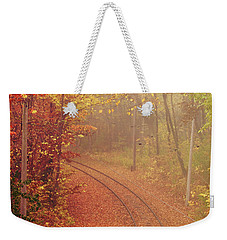 Autumn At Lake Harriet  Weekender Tote Bag