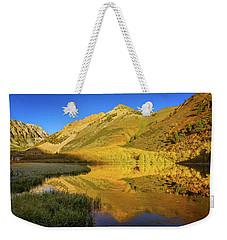 Autumn At North Lake Weekender Tote Bag