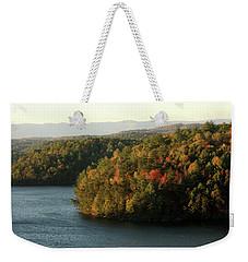 Autumn At Philpott Lake, Virginia Weekender Tote Bag