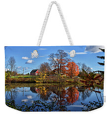 Autumn At The Farm Weekender Tote Bag