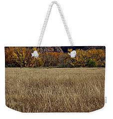Autumn At The Ghost Ranch Weekender Tote Bag by Stuart Litoff