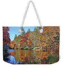 Autumn At The Lake 2 Weekender Tote Bag