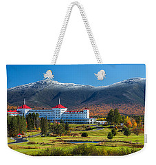 Autumn At The Mount Washington Crop Weekender Tote Bag