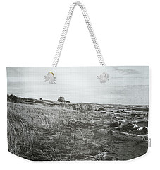 Weekender Tote Bag featuring the photograph Autumn At The Mouth Of The Big Sable 2.0 by Michelle Calkins