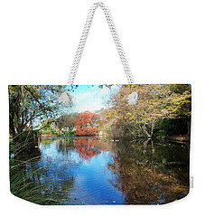Autumn At The Park Weekender Tote Bag