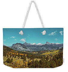 Autumn At The Weminuche Bells Weekender Tote Bag
