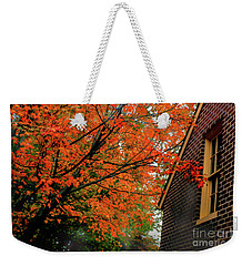 Autumn At The Window Weekender Tote Bag