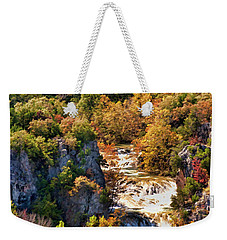 Autumn At Turner Falls Weekender Tote Bag