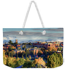 Autumn At Wsu Weekender Tote Bag by David Patterson