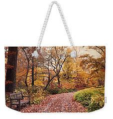 Autumn Azalea Garden Weekender Tote Bag