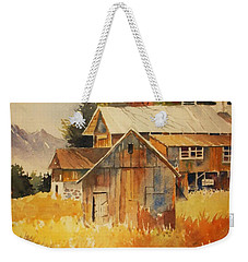 Autumn Barn And Sheds Weekender Tote Bag