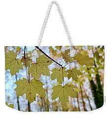 Autumn Beauty Weekender Tote Bag
