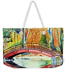 Autumn Beauty Weekender Tote Bag by Tom Riggs