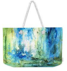 Spring Rain  Weekender Tote Bag by Laurie Rohner