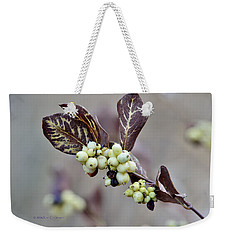 Autumn Berries And Foliage Weekender Tote Bag