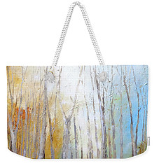 Autumn Bliss Weekender Tote Bag by Dina Dargo