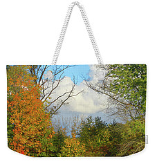 Autumn Breeze Nature Art Weekender Tote Bag