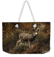 Autumn Buck Weekender Tote Bag