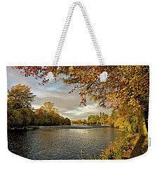 Autumn By The River Ness Weekender Tote Bag