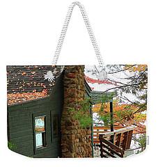Autumn Cabin Weekender Tote Bag