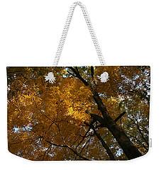 Autumn Canopy Weekender Tote Bag by Shari Jardina