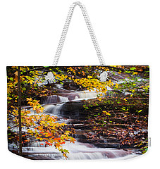 Autumn Cascade  Weekender Tote Bag by Parker Cunningham
