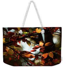 Autumn Changing Weekender Tote Bag