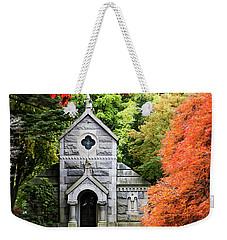 Autumn Chapel Weekender Tote Bag