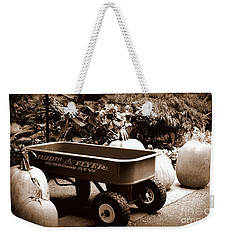 Autumn Chores Weekender Tote Bag
