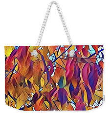 Weekender Tote Bag featuring the photograph Autumn Color by Diane Miller