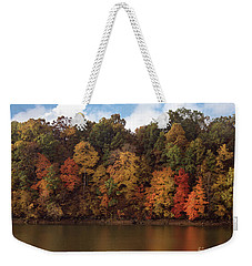 Autumn Color In The Ozarks, Southwest Missouri Usa Weekender Tote Bag