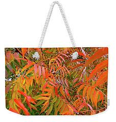 Autumn Color Weekender Tote Bag