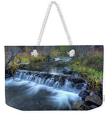 Autumn Color On The Little Colorado Weekender Tote Bag