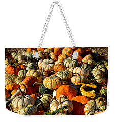 Autumn Colors Weekender Tote Bag by Barbara Bardzik