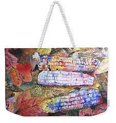 Autumn Corn Weekender Tote Bag