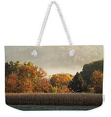 Autumn Cornfield Weekender Tote Bag