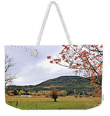 Autumn Country View Weekender Tote Bag