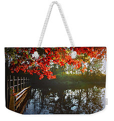 Autumn Creek Magic Weekender Tote Bag