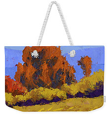 Autumn Dance Weekender Tote Bag